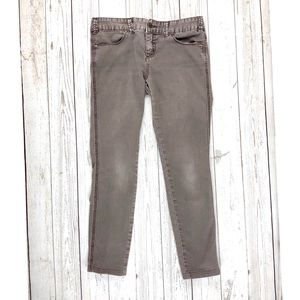 Free People brown skinny jeans